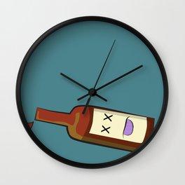Even more drunk beer! Wall Clock