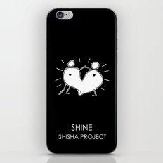 SHINE by ISHISHA PROJECT iPhone Skin