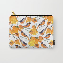 Birds in Autumn Carry-All Pouch