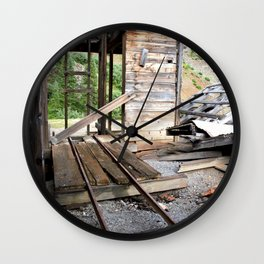 Exploring the Longfellow Mine of the Gold Rush - A Series, No. 8 of 9 Wall Clock