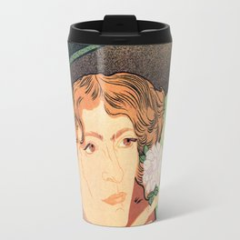 Art Nouveau Expo Salon des Cent Paris Travel Mug