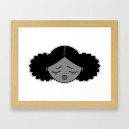 La petite larme Framed Art Print