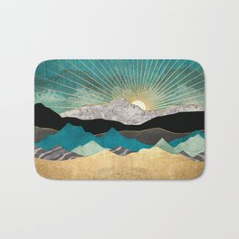 Peacock Vista Bath Mat