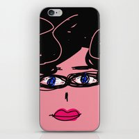 ursula iPhone & iPod Skins featuring Ursula by Rimadi