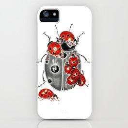 Siege of ladybugs iPhone Case