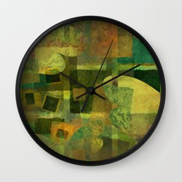 Dorado Verdiso and Butterfly Wall Clock