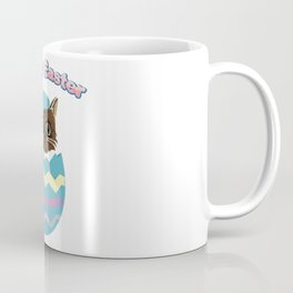 Easter Egg Cat Coffee Mug