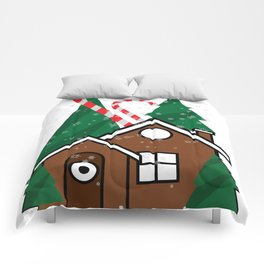 merry christmas vector illustration Comforters