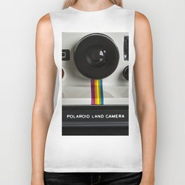 Camera Photorealism Painted II Biker Tank