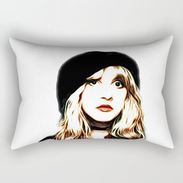 Stevie Nicks - Rhiannon - Pop Art Rectangular Pillow