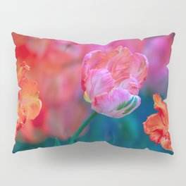 parrot tulips Pillow Sham