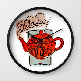 Ohlala Wall Clock