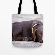 the hound dog Tote Bag