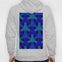 Geometric Design 2 (Blue) Hoody