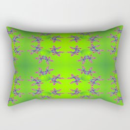 Abstract-lightning-pattern Rectangular Pillow