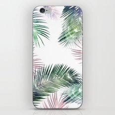 tropical leaves 2 iPhone & iPod Skin