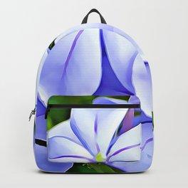 Blue Plumbago Backpack