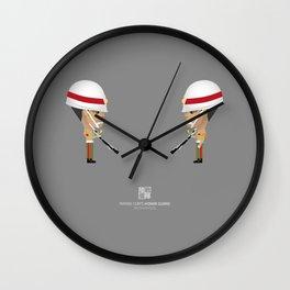 Honor Guard - DMQ Drill Wall Clock