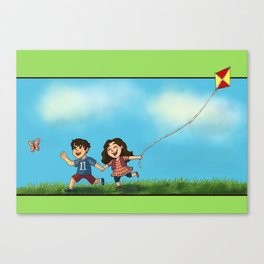 Scallison Spring Canvas Print