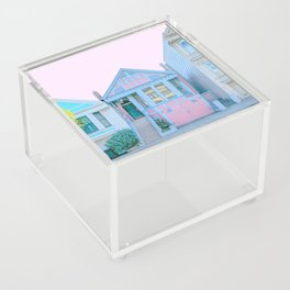 San Francisco Painted Lady Victorian House Acrylic Box