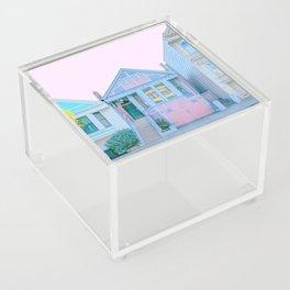 San Francisco Painted Lady Victorian House Acrylic Box