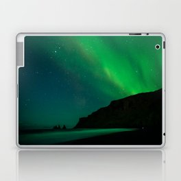 Night with the Northern Lights Laptop & iPad Skin