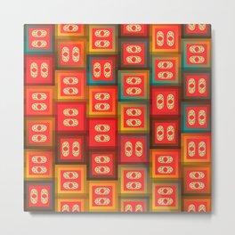 Colorful tiles Metal Print