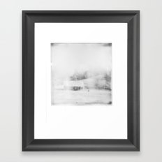 The Old Homestead Framed Art Print