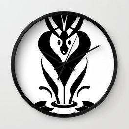 Sweet Mythology Graphic Design Wall Clock