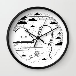 Floaty Love Wall Clock