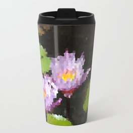 Water Lily Travel Mug