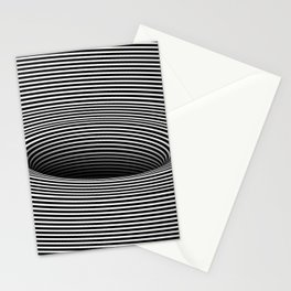 Black Hole Vertigo Stationery Cards