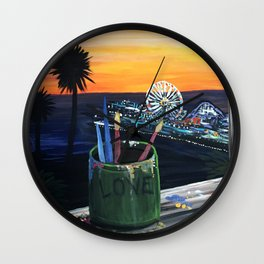 Artist View Wall Clock