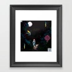 Savage & Sacred Framed Art Print