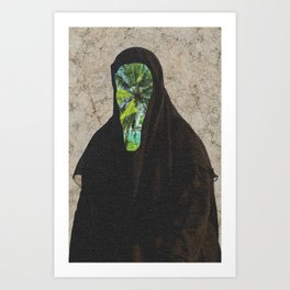 Miss Palms Art Print