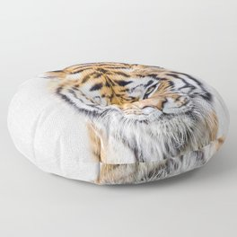 Tiger - Colorful Floor Pillow