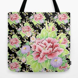 Kimono Bouquet Chintz Ditsy Tote Bag