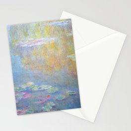 Monet water lilies 1908 Stationery Cards
