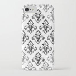 Royal - fleur de lys iPhone Case