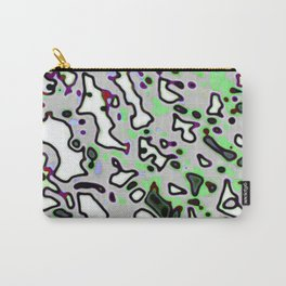 Green Currogated Carry-All Pouch