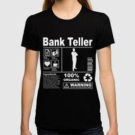Bank Teller Product Description T-shirt