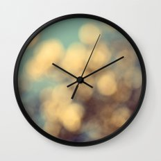Dance of the Magnolia Blossoms Wall Clock
