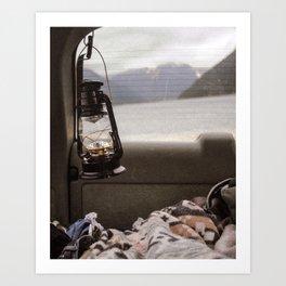 Cozy Mornings Art Print