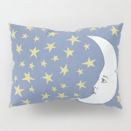 To the Mooon to the Starrs Pillow Sham