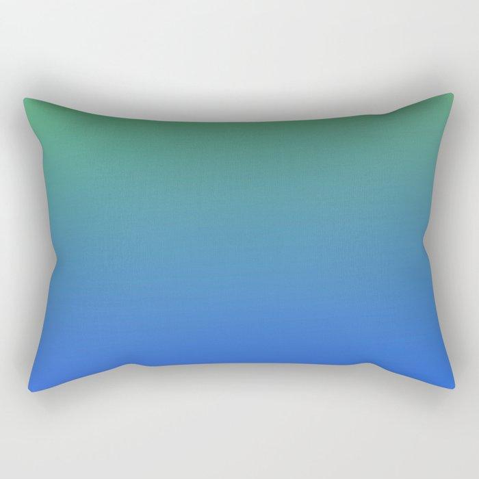 RESTING STATE - Minimal Plain Soft Mood Color Blend Prints Rectangular Pillow