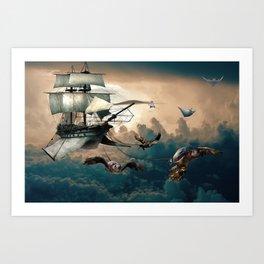 Creativity vs Gravity Art Print
