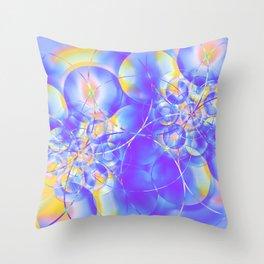 Electrons Throw Pillow