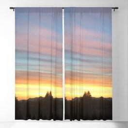 Rainbow Sunrise Blackout Curtain