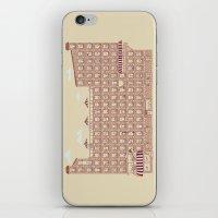 periodic table iPhone & iPod Skins featuring Periodic Neighbourhood by Salih Gonenli