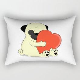 PugHugs Rectangular Pillow